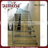plexiglass stair handrail stair grab bar staircase chandeliers