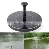 7V/1.4W solar water pump irrigation for agriculture /dc solar submersible pump price for garden fountain pump solar