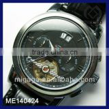 calendar showing day and month display mechanical watch with Tourbillon / men's Tourbillon mechanical watch