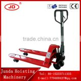 China Factory Instock hand pallet truck with AC pump 3000kg/3ton Manual Hydraulic Hand Pallet Truck