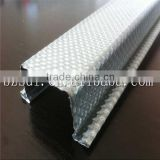Manufacturers hot sale galvanized furring channel omega steel profiles &ceiling system