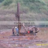 China 120m portable hydraulic water well drilling machine for sale