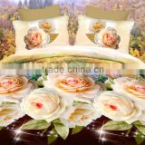 LILIYA Rose 3D Bedding Set Fashion Bed Sheet / Duvet Cover / Pillowcase Winter 4/6/7 Pcs Bed Set Comforter Bedding Sets