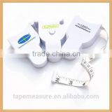 1.5m/60inch custom waist body tape measure factory with Your Company or Logo