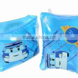 pvc inflatable arm ring, inflatable swimming arm band for baby