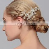 Wedding bridal hair comb headpieces hairpins headbands crystal pearl hair clip for women
