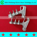 NLL cable cleat aluminium alloy strain clamp