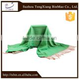 Long scarf Reversible Satin Silk Scarves for women scarf bound