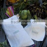 100% retted bamboo Producer Bag for storing foodstuff