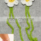 Knitting handmade wool baby barefoot sandals