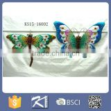 Butterfly& dragonfly Wall Decoration wrought iron wall decor