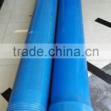 Deep well PVC casing pipes and PVC water well screens for export