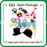36pcs photo booth props lips on a stick for wedding party photography