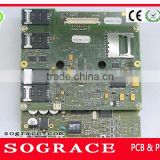 Clone PCBA,PCB Assembly,Mobile phone motherboard ,2 layer PCBA
