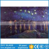 Handmade Abstract Fusing Glass Composition Art Painting