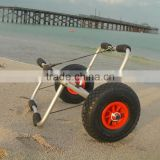 surfing double sit plastic kayak cart