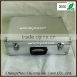 ABS silver diamond pattern aluminum tool case, useful aluminum case