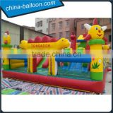 factory price inflatable amusement park ,inflatable castle, inflatable fun island for kids