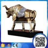 Modern Sculpture Decoration Resin Animal Bull Statue