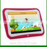 BENEVE R70DL Preschool Education Kids Dual Core Tablet PC 7 Inch RK3028 Android 4.2 1GB RAM 8GB Rose