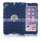 Protective Hybrid Case for iPad 2/3/4 Combo Silicone Shockproof Hybrid Case Cover for Apple iPad 2/3/4,