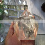 Super Top Quality Rare Clear Quartz Hexagonal Crystal Singing Pyramid Wholesale