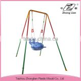 Body protections design indoor baby single portable swing chair