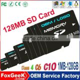 Cheap 128mb price sd memory card 128mb micro capacity microSD card Class 4 6 10 for Mp3,Gps,Smart Phone