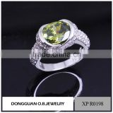 Wholesale latest silver ring design jewelry new silver sample finger ring