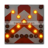 With 2 LED warning light super brightness Traffic Arrow Board