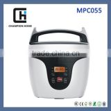 Made in China hotest mini 2L cute shape fashion design multifunctional CB approval electric pressure rice cookers