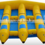 Inflatable fly fish flyfish flying Water toy trampoline slide sled banana boat