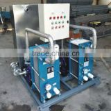 Heat exchanger for induction heating machine cooling