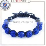 2015 trend customized friendship fimo beads bracelet in china
