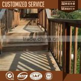 Heat Treated Outdoor Wood Steps
