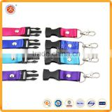 Badge Holder Type PVC ID card badge features Custom logo nylon Material Lanyards badge reel for gifts