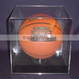 lucite basketball holder display stand