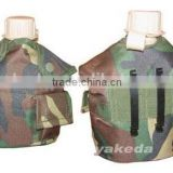 Military Tactical Travel Water Bottle Carry Bag, aluminium canteen.