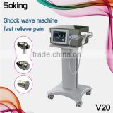 Portable shock wave physical therapy vibration equipment