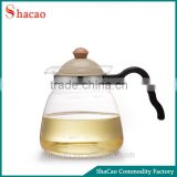 Practical High Borosilicate Glass Water Jug With Plastic Lid Of Moroccan Glass Teapot