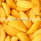 Good quality IQF frozen yellow peach slices