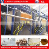 paper pulp machinery and reed straw pulp bamboo pulp making pulp making