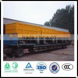 Factory supplier 2 axle tractor dump trailer