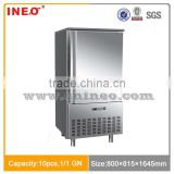 10 Pans Commercial Stainless Steel Shock Freezer/Shock Freezer For Sale/Fast Freezer