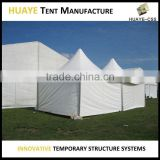Popular easy up movable outdoor pagoda tent for events 10m diameter hexagonal frame tent
