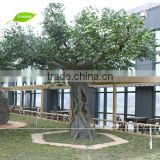 GNW BTR046 artificial live ficus tree 12ft tall decorative for house and garden