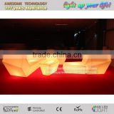 Outdoor Led Furniture Lighting 16 Colour Changing Led Light up Furniture Set Lighted Bar Furniture