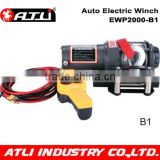 2000LBS 4x4 12v electric winch