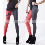 Latest 90% polyester 10% spandex yoga pants pattern