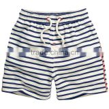 S32976W Children Pants for baby stripes summer trousers boys Pants kids child loose short pants